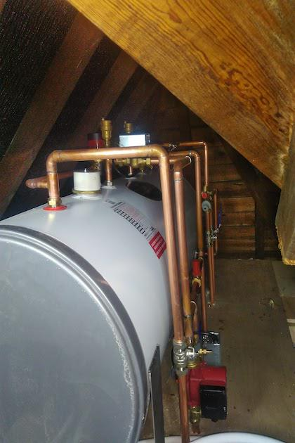 Unvented Cylinder Install